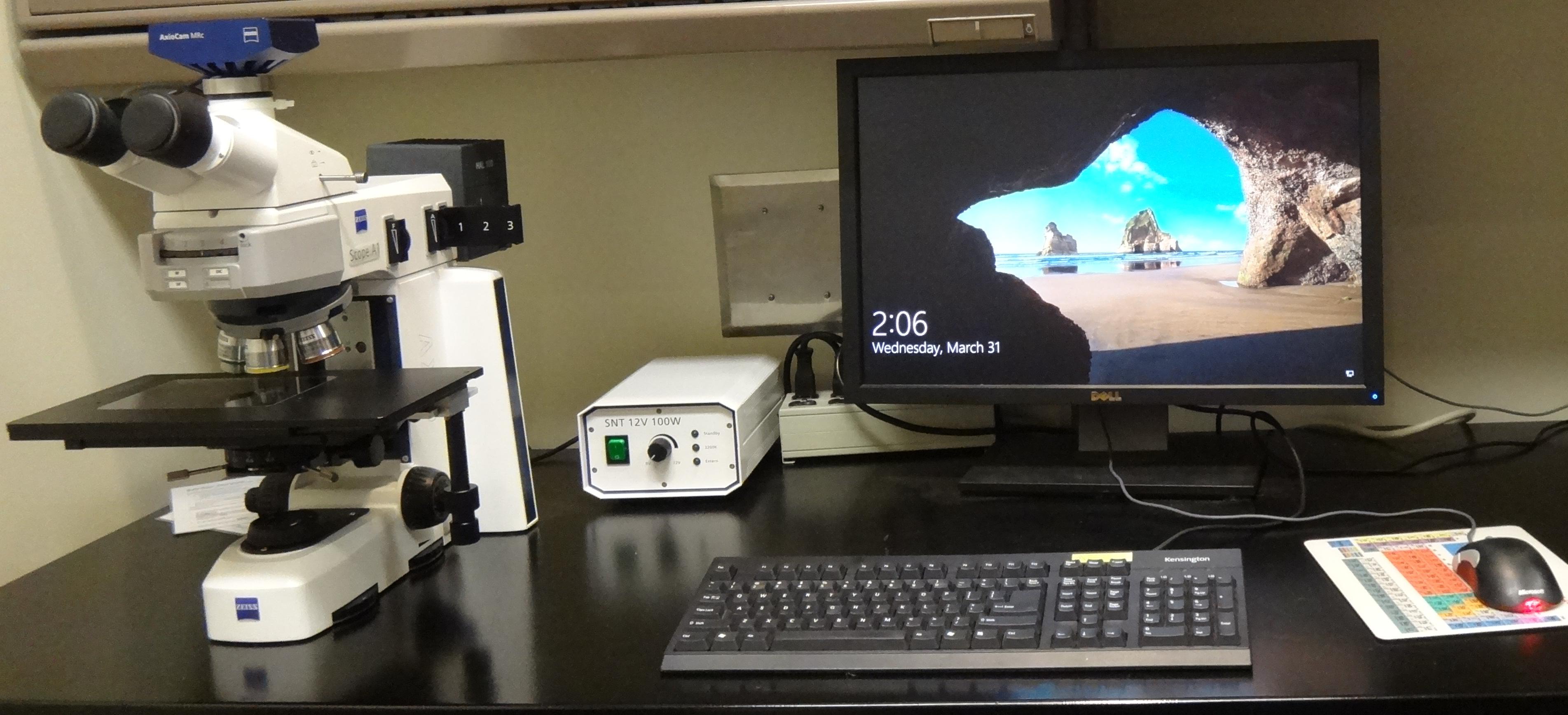 Inspection microscope 2020
